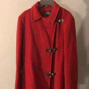 Dana Buchanan wool coat